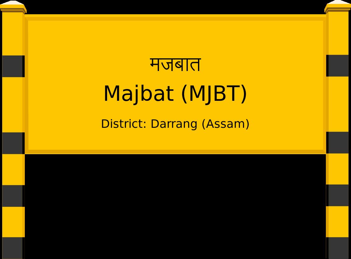 Majbat (MJBT) Railway Station