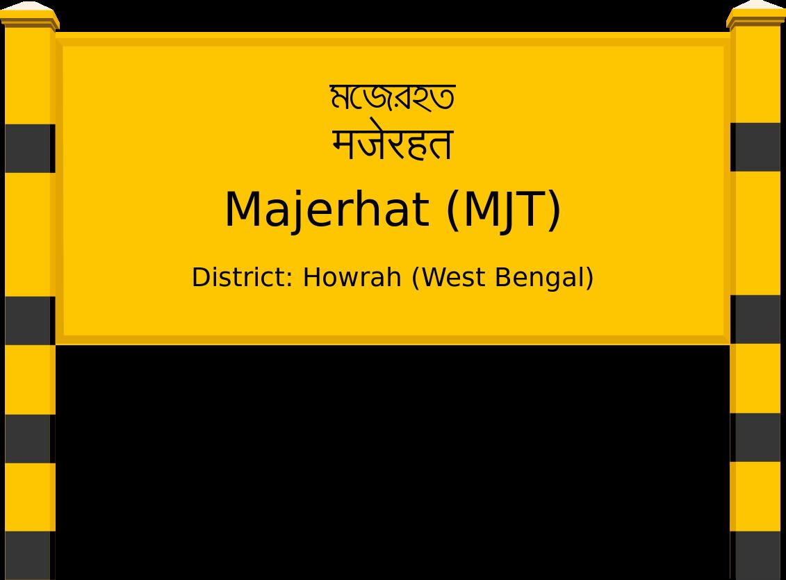 Majerhat (MJT) Railway Station