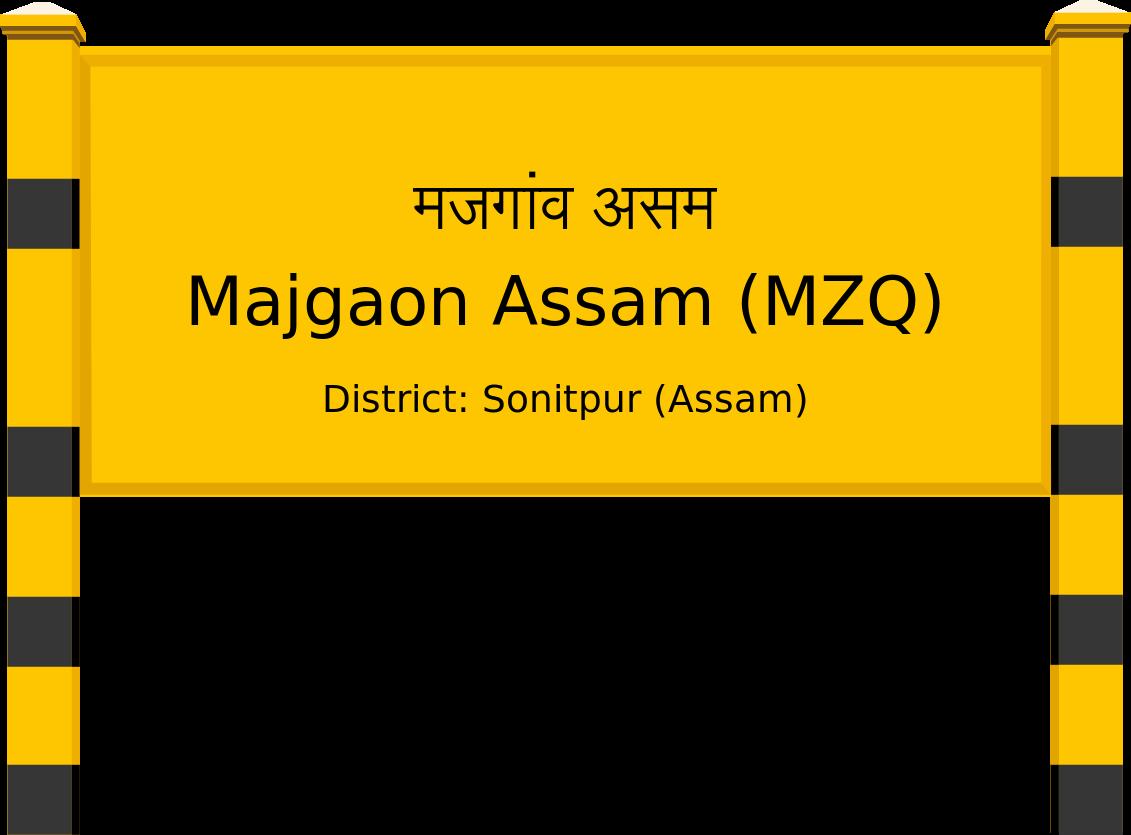 Majgaon Assam (MZQ) Railway Station