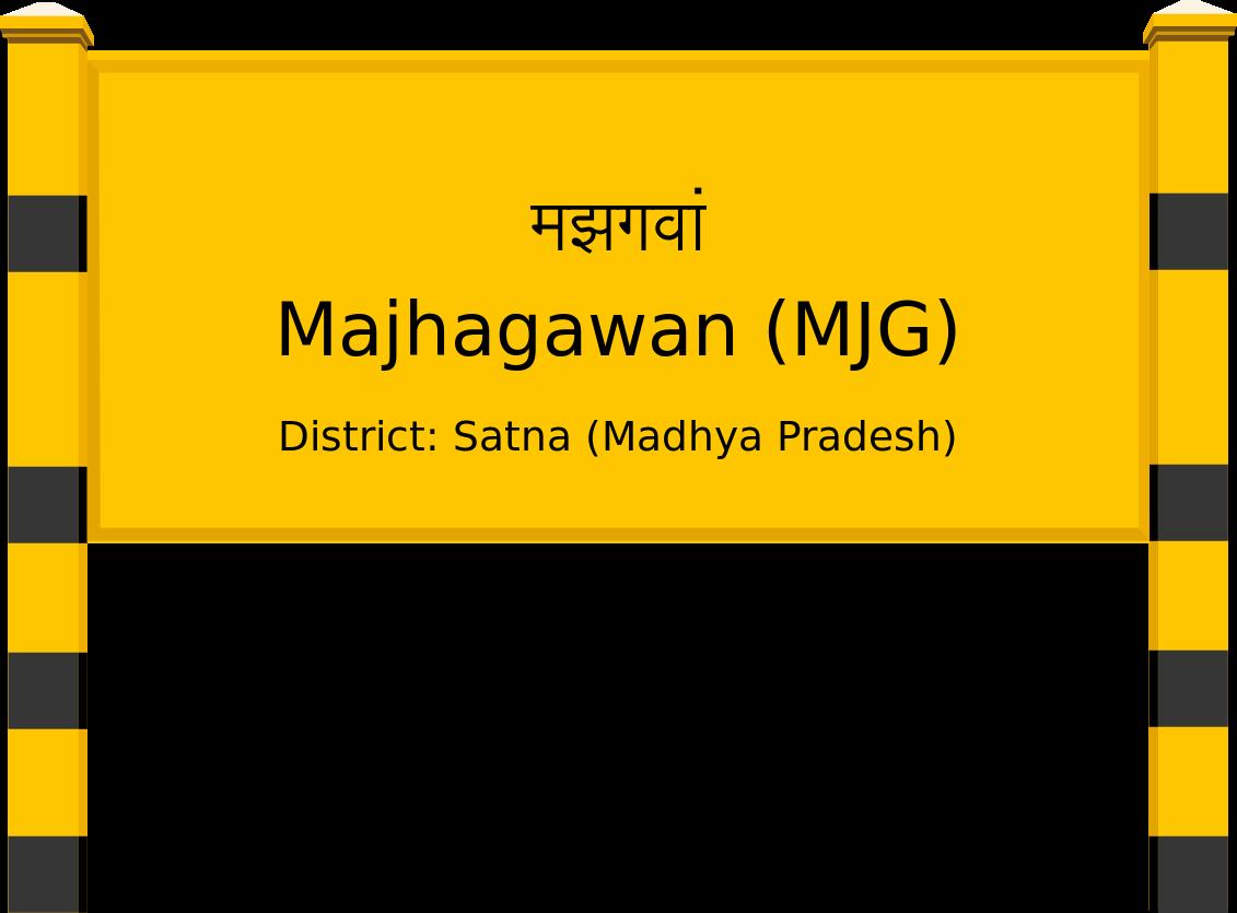 Majhagawan (MJG) Railway Station