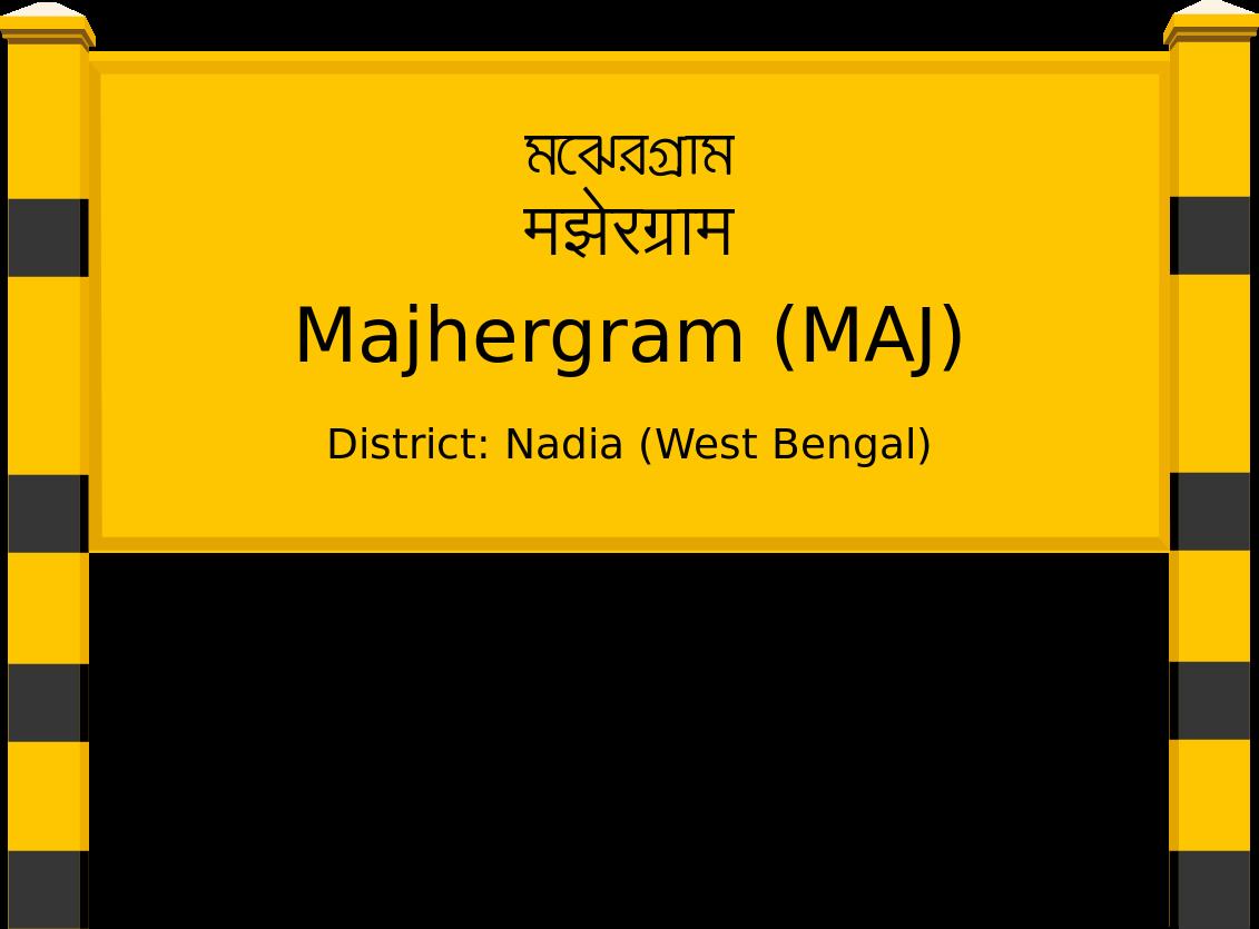 Majhergram (MAJ) Railway Station