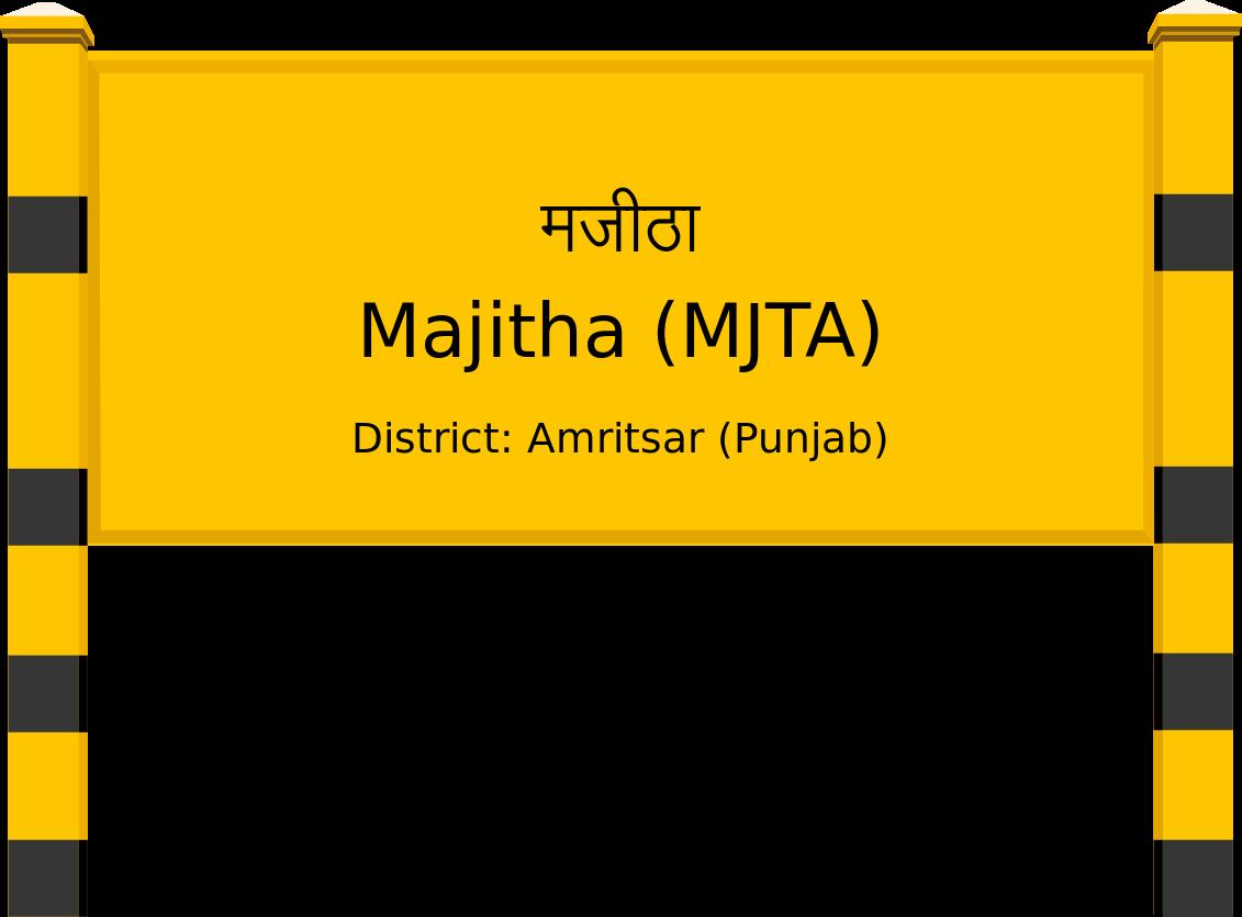 Majitha (MJTA) Railway Station