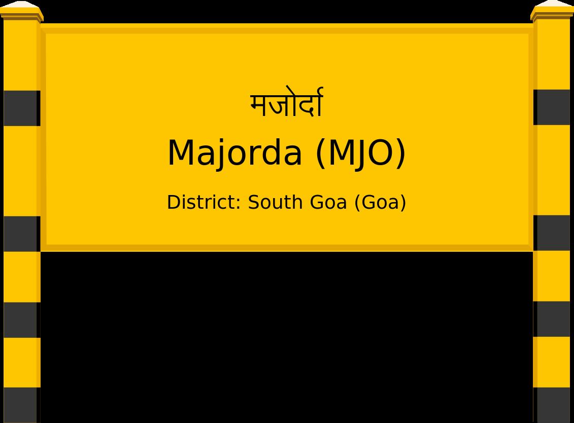 Majorda (MJO) Railway Station
