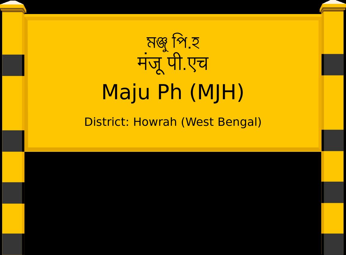 Maju Ph (MJH) Railway Station