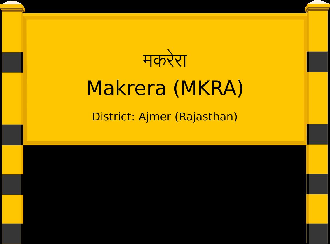 Makrera (MKRA) Railway Station