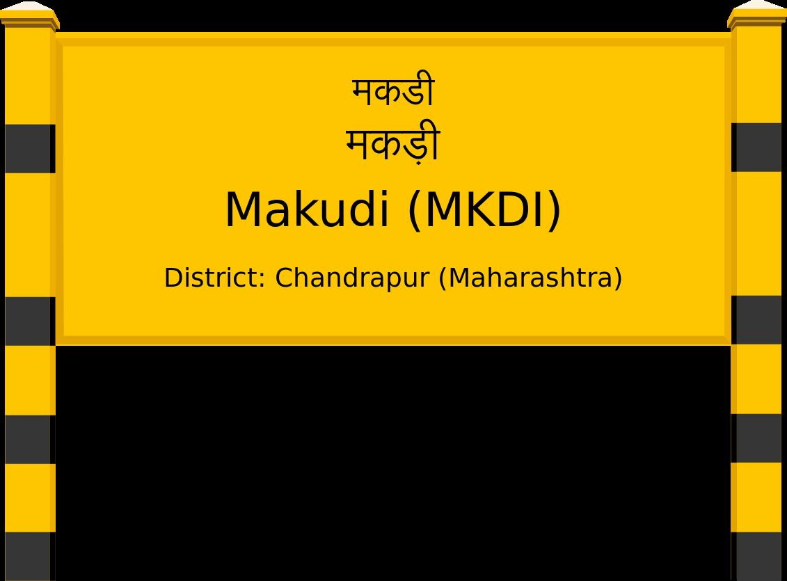 Makudi (MKDI) Railway Station