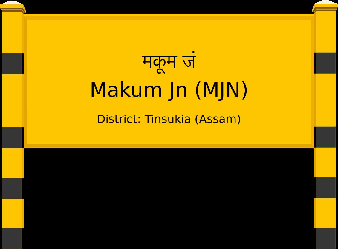 Makum Jn (MJN) Railway Station