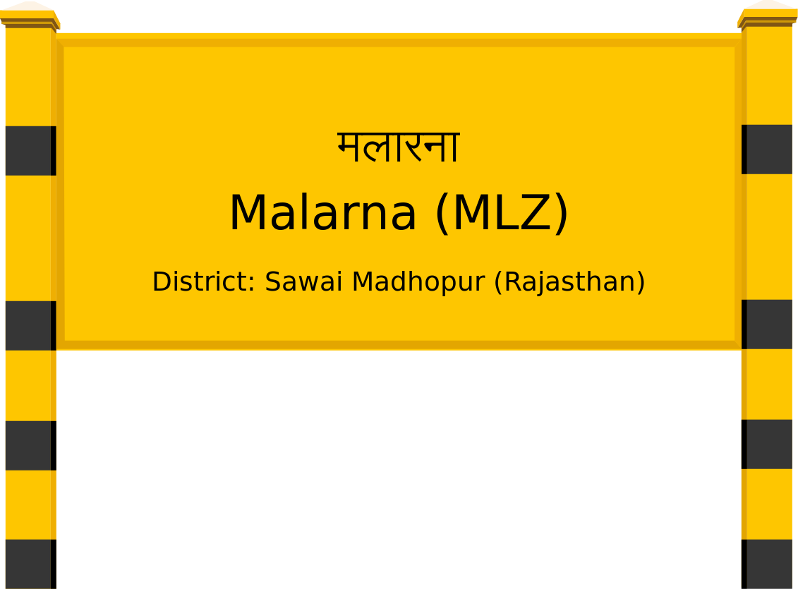 Malarna (MLZ) Railway Station