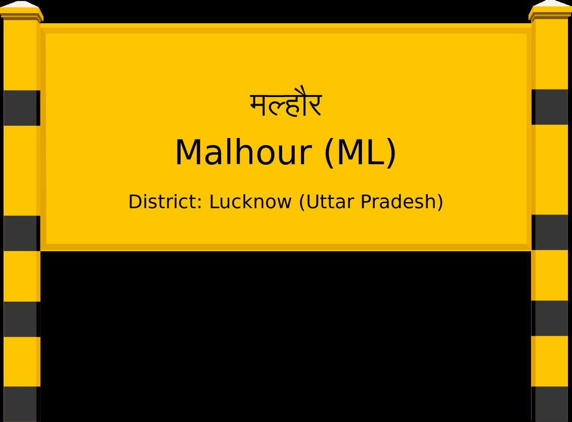 Malhour (ML) Railway Station