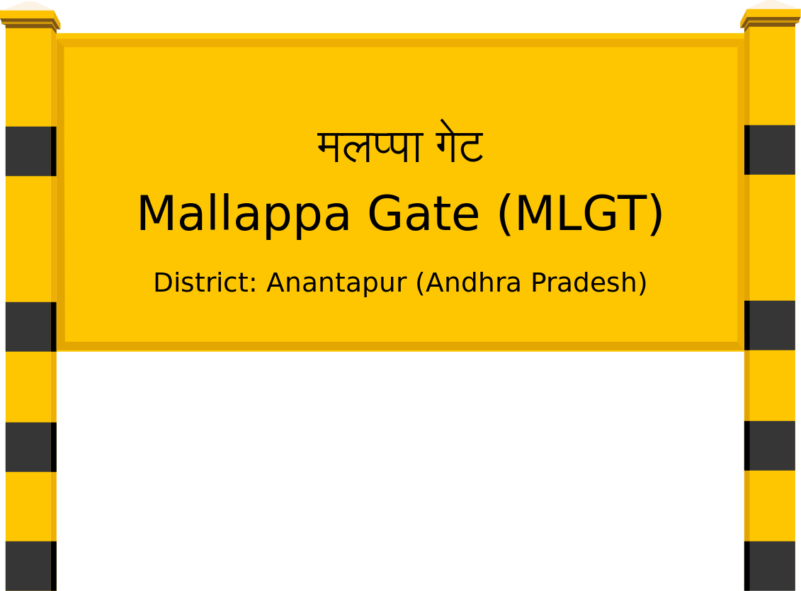 Mallappa Gate (MLGT) Railway Station