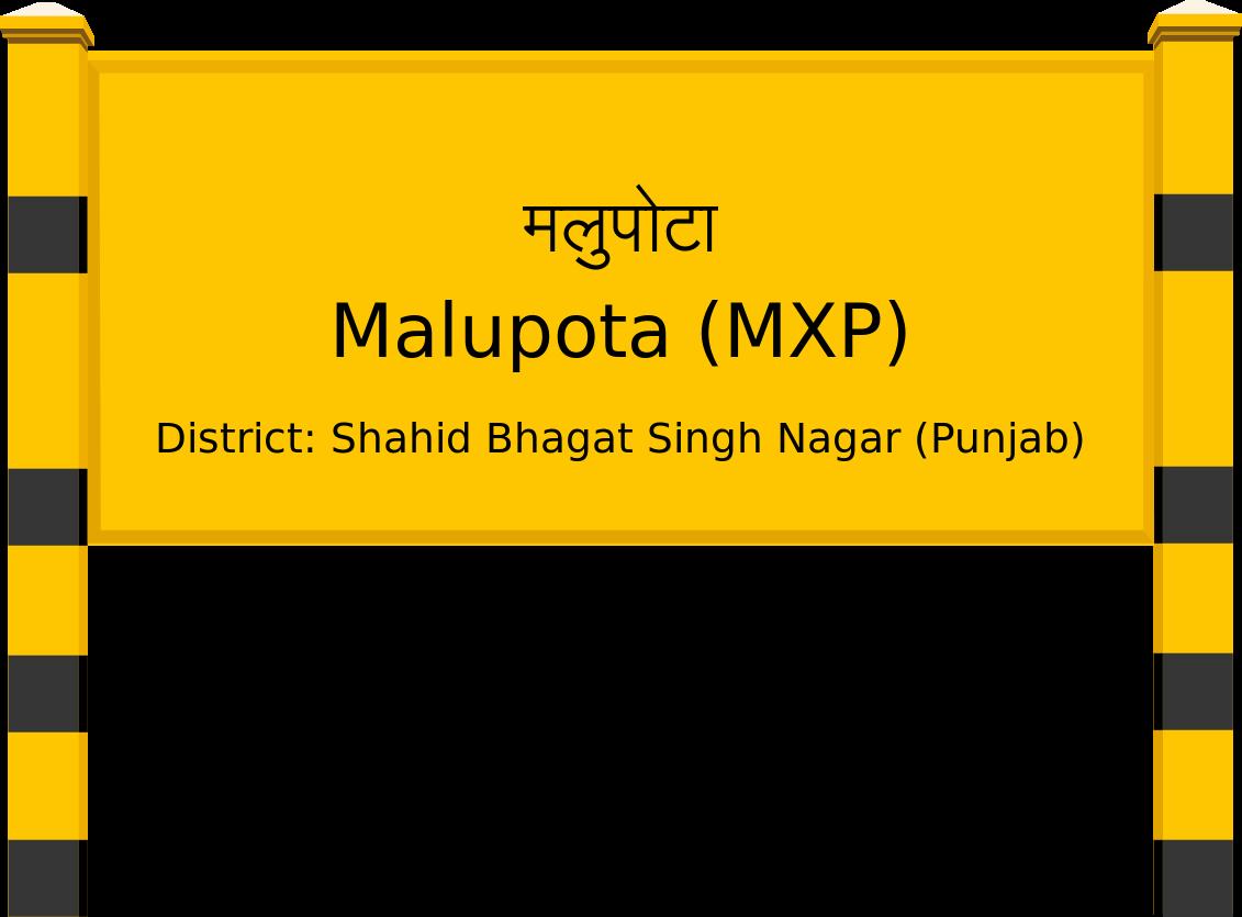 Malupota (MXP) Railway Station