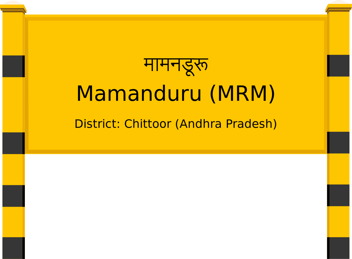 Mamanduru (MRM) Railway Station