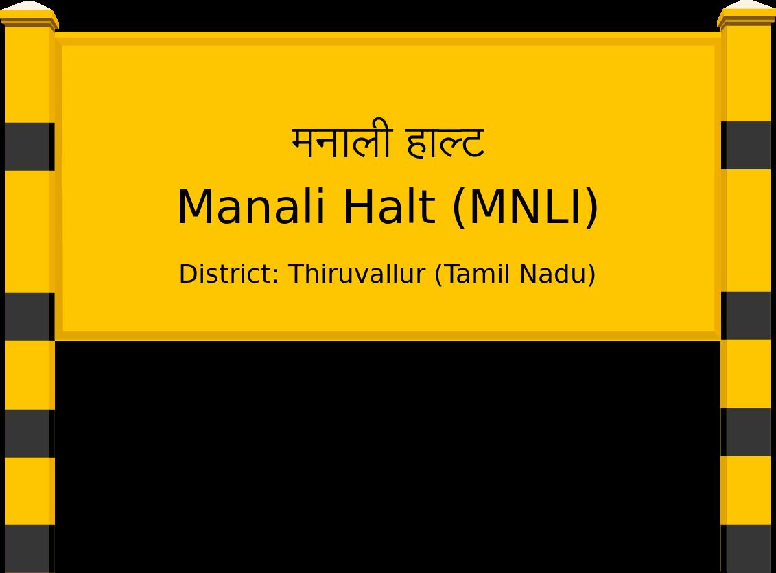 Manali Halt (MNLI) Railway Station