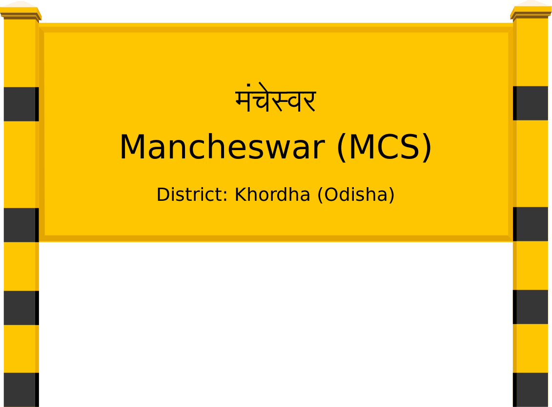 Mancheswar (MCS) Railway Station