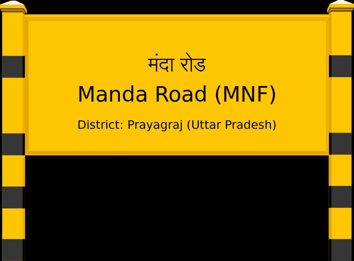 Manda Road (MNF) Railway Station