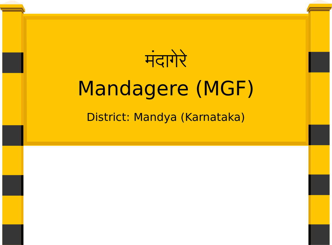Mandagere (MGF) Railway Station