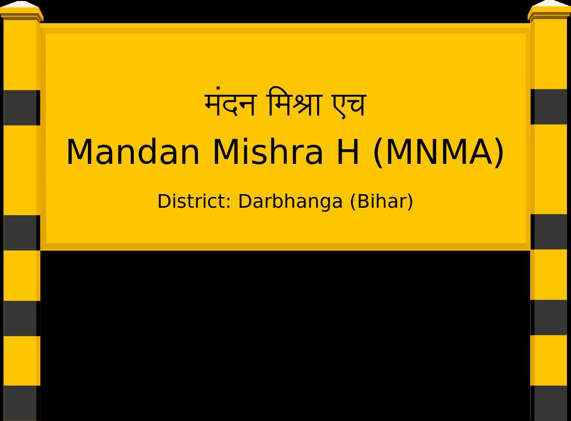 Mandan Mishra H (MNMA) Railway Station