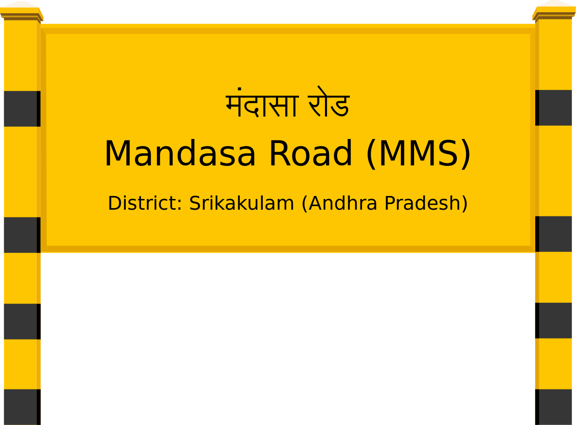 Mandasa Road (MMS) Railway Station