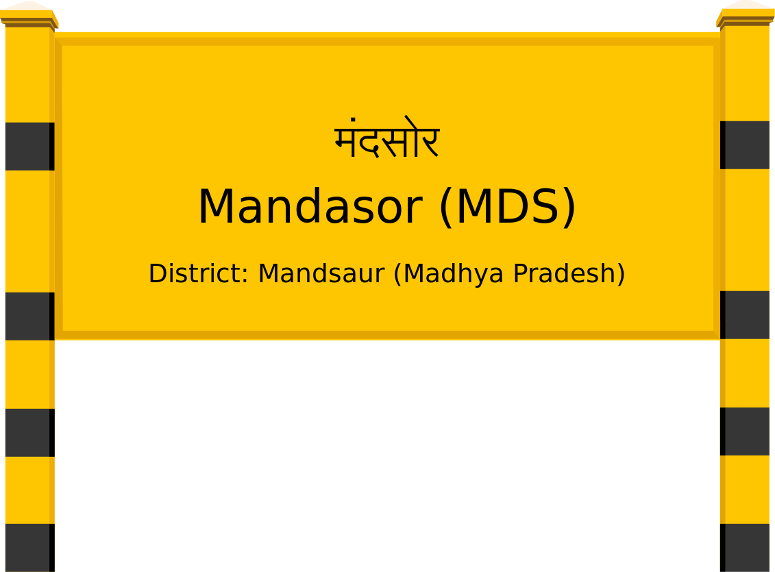 Mandasor (MDS) Railway Station