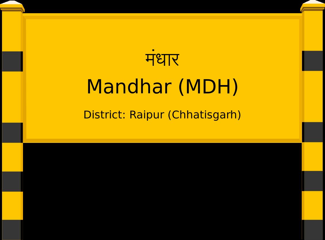 Mandhar (MDH) Railway Station