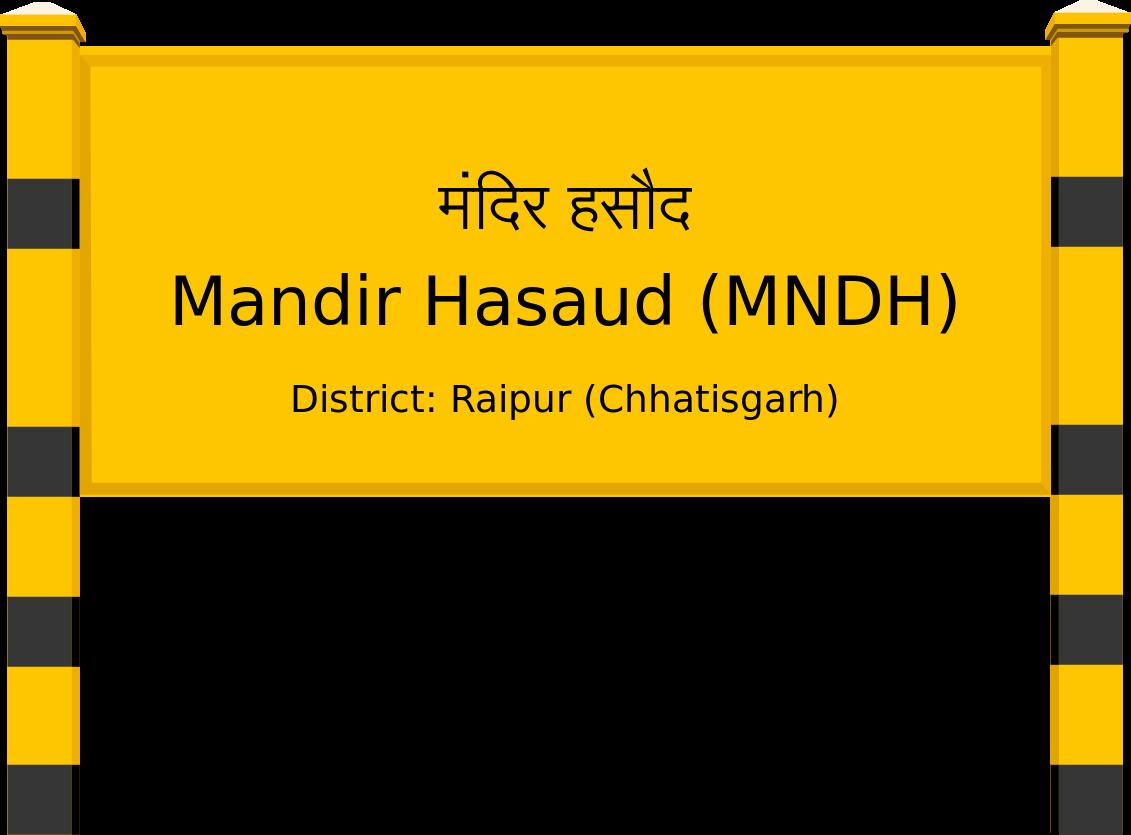 Mandir Hasaud (MNDH) Railway Station