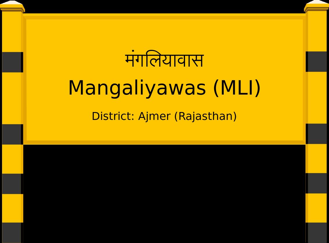 Mangaliyawas (MLI) Railway Station