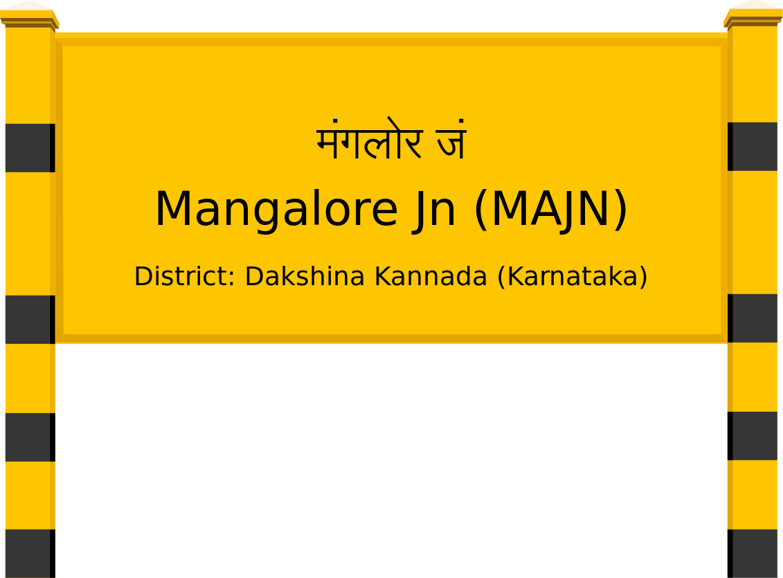 Mangalore Jn (MAJN) Railway Station