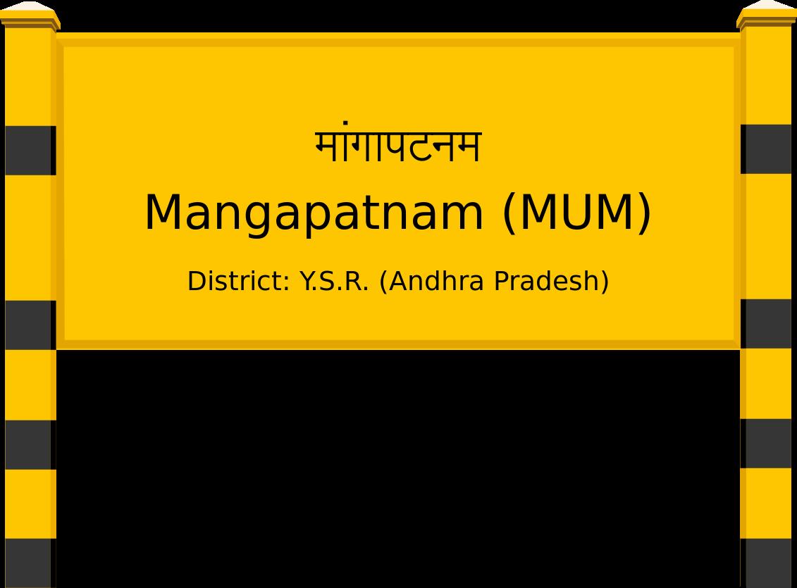 Mangapatnam (MUM) Railway Station