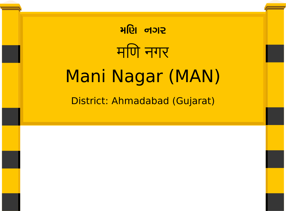 Mani Nagar (MAN) Railway Station