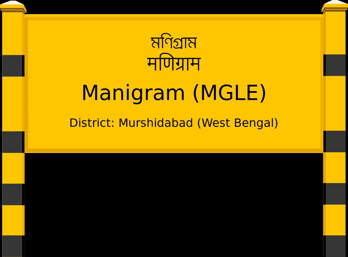 Manigram (MGLE) Railway Station