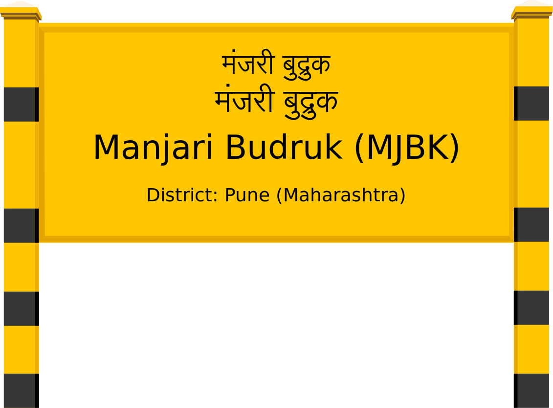 Manjari Budruk (MJBK) Railway Station