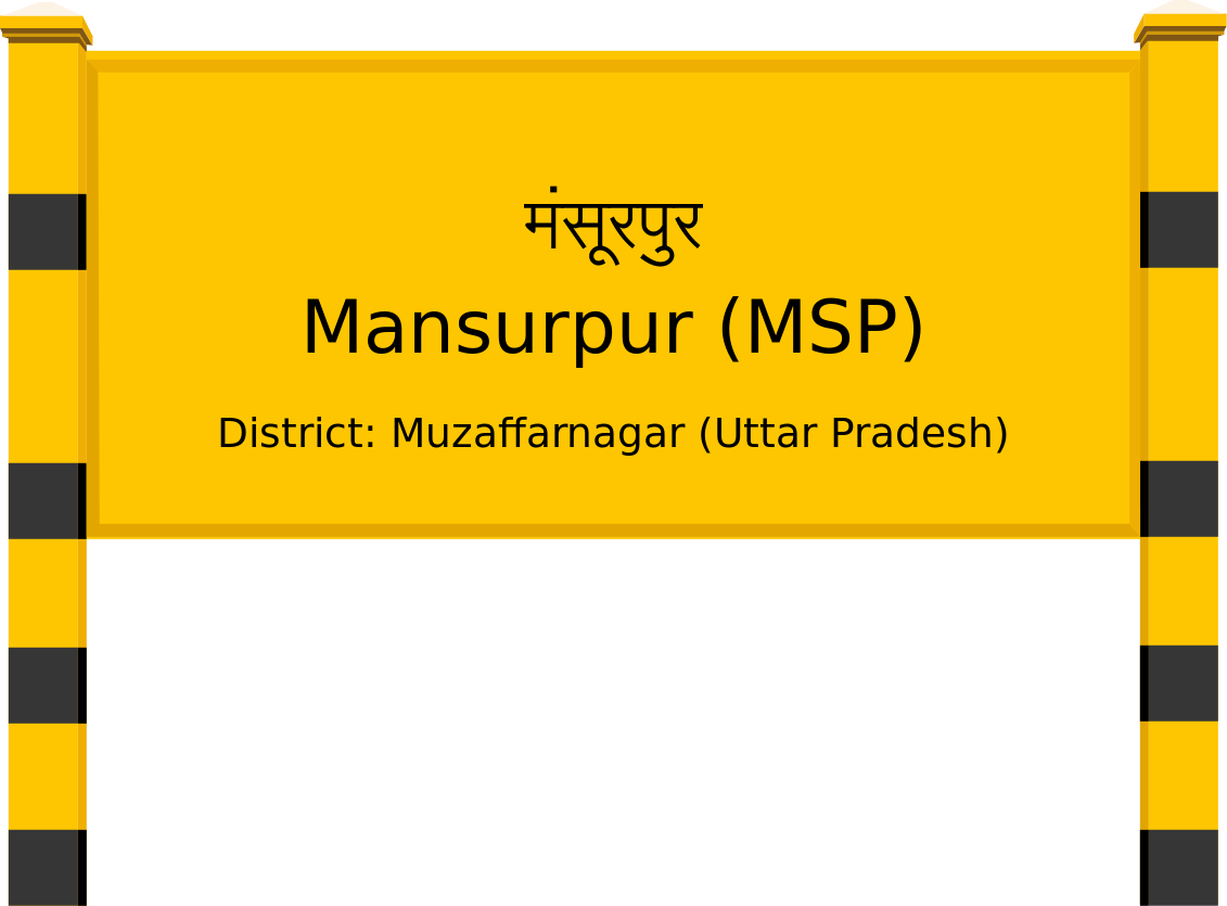Mansurpur (MSP) Railway Station