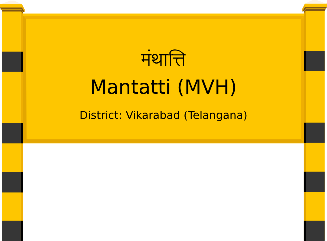 Mantatti (MVH) Railway Station