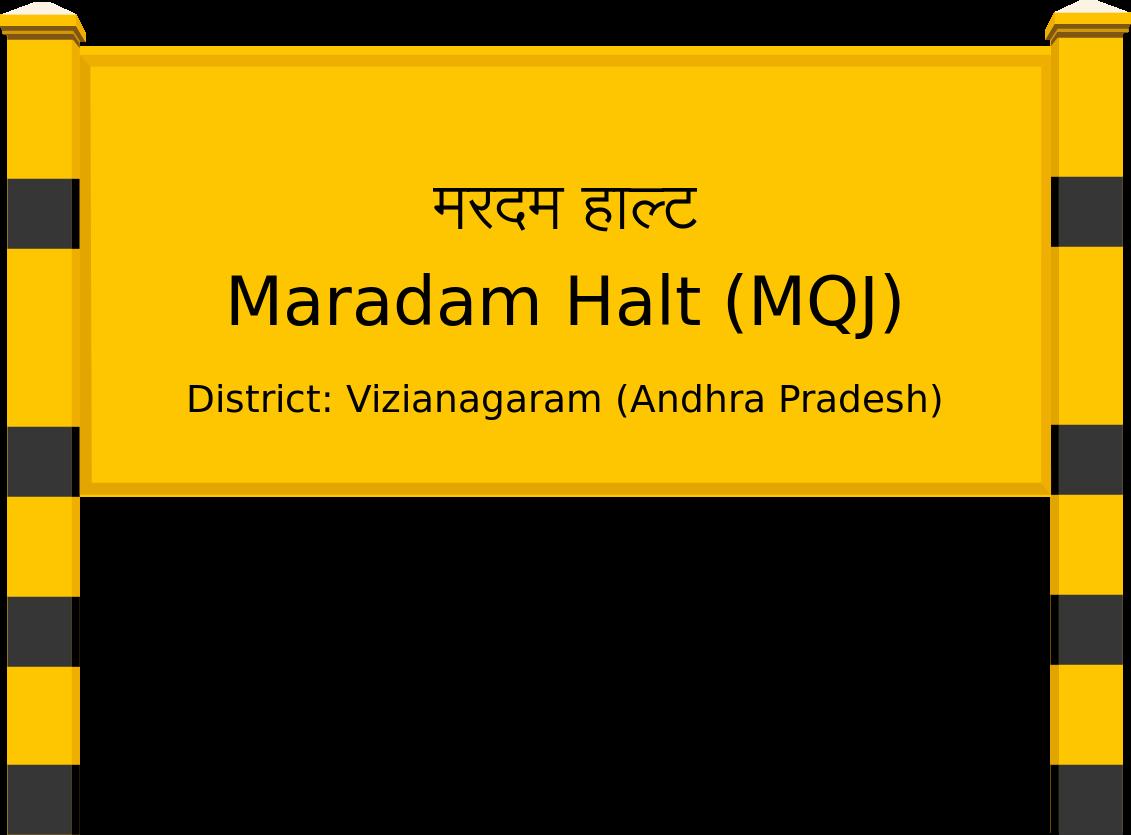 Maradam Halt (MQJ) Railway Station