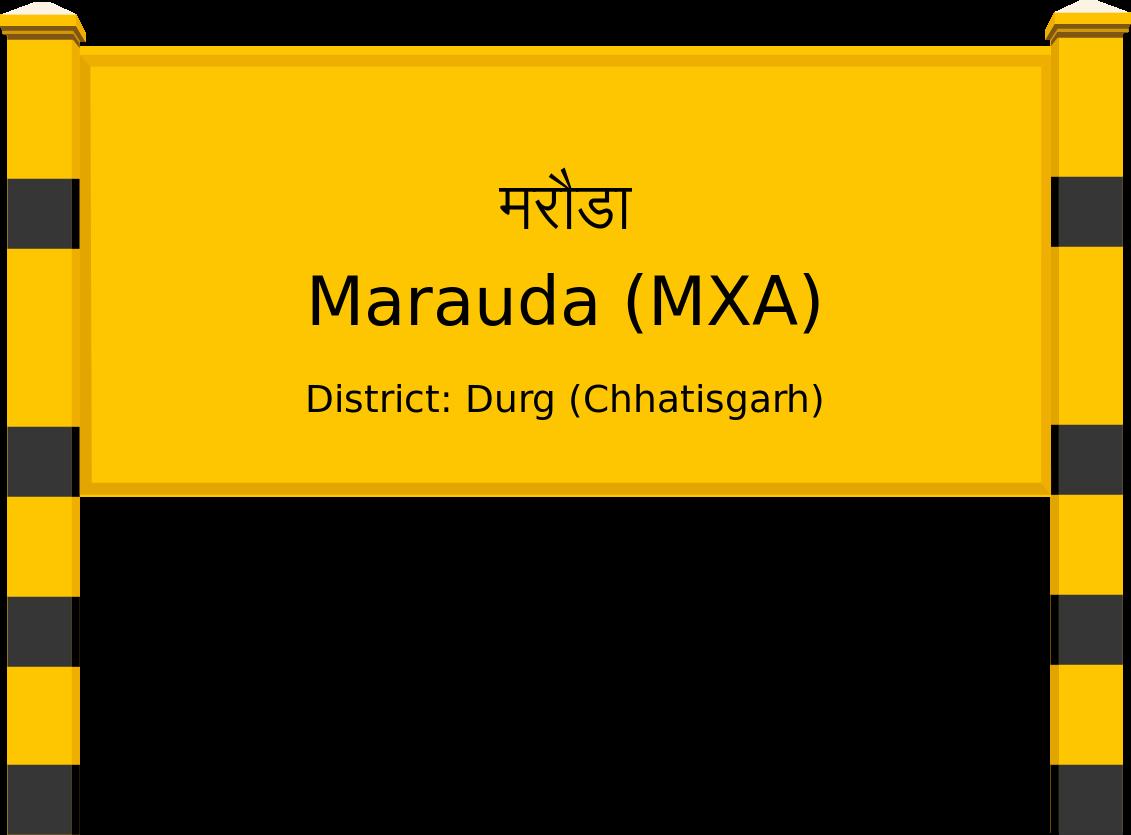 Marauda (MXA) Railway Station