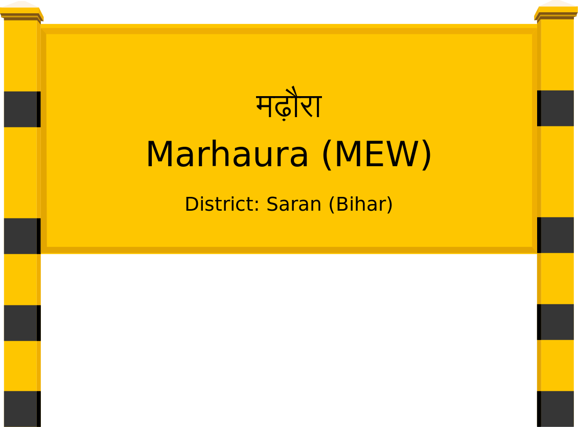 Marhaura (MEW) Railway Station