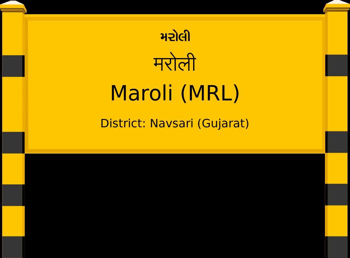 Maroli (MRL) Railway Station
