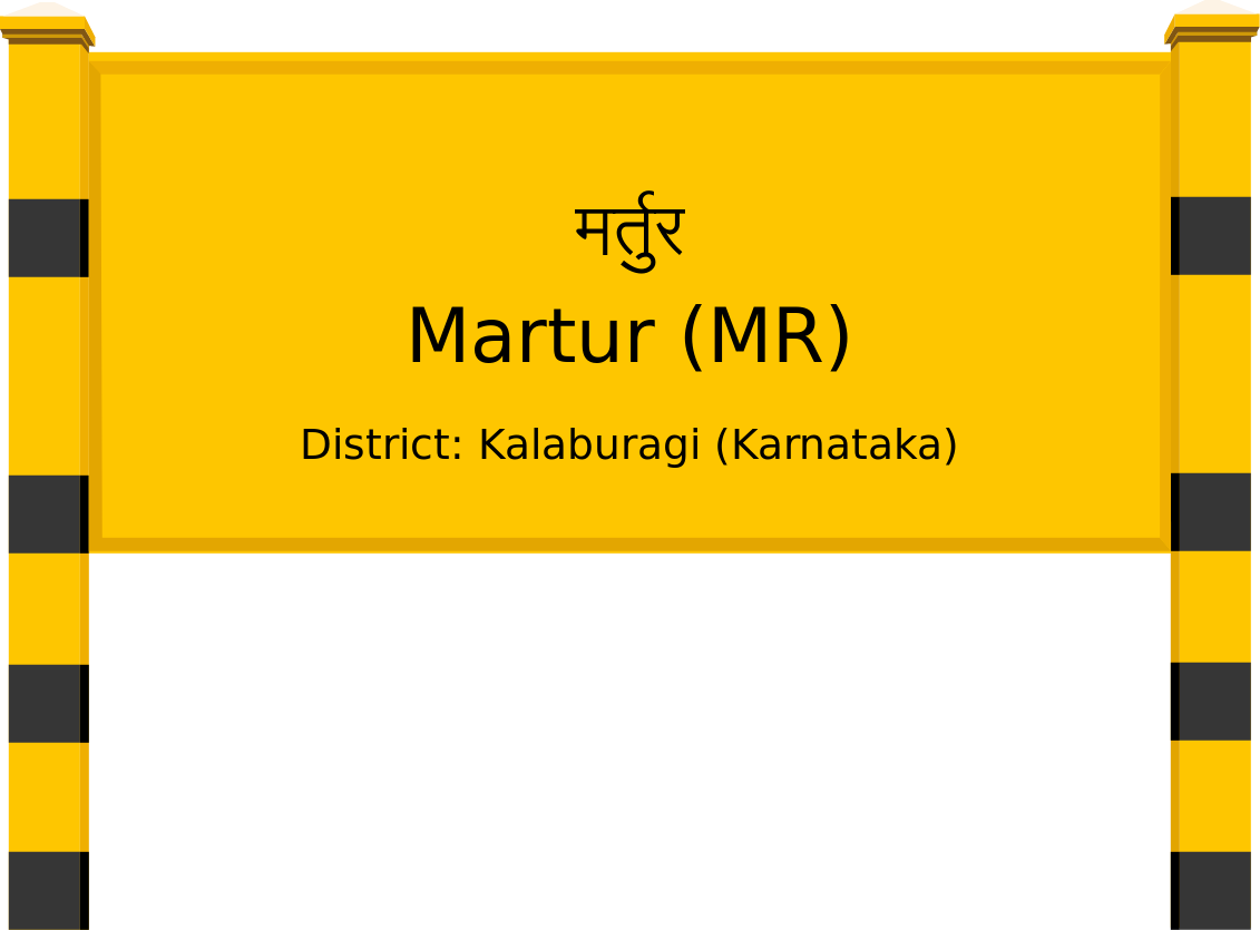 Martur (MR) Railway Station