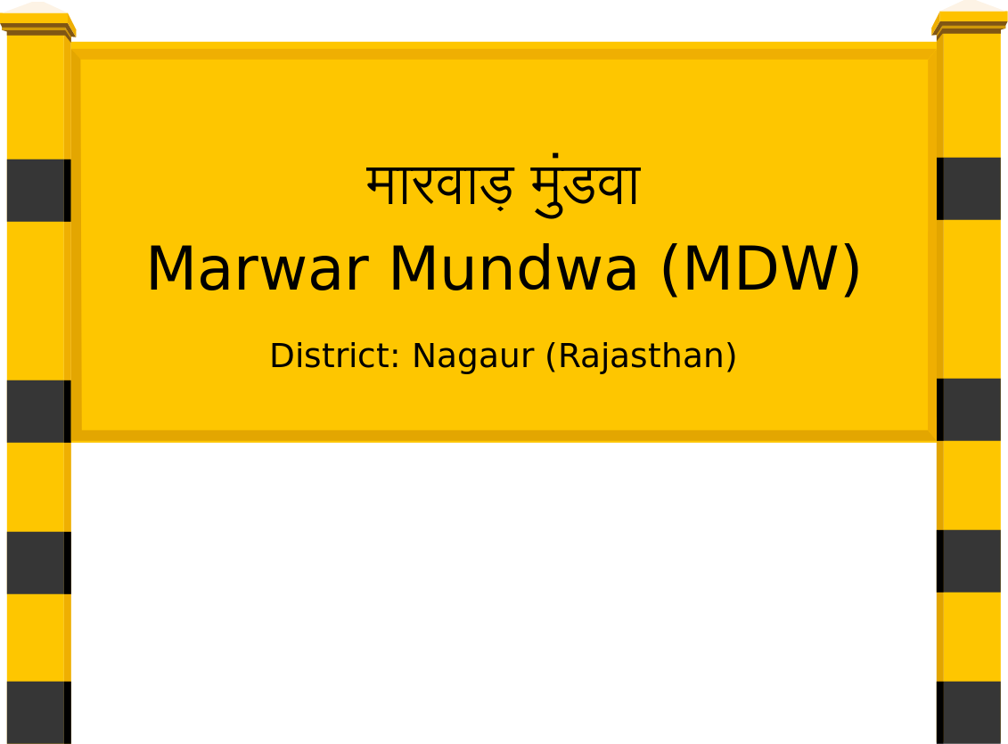 Marwar Mundwa (MDW) Railway Station
