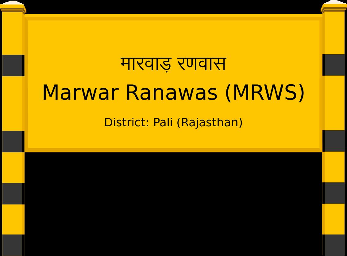 Marwar Ranawas (MRWS) Railway Station