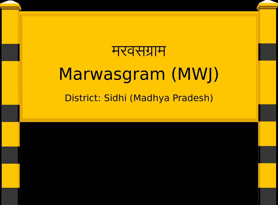 Marwasgram (MWJ) Railway Station