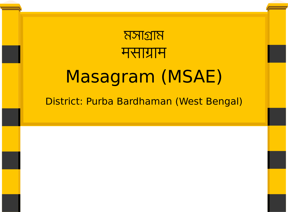 Masagram (MSAE) Railway Station