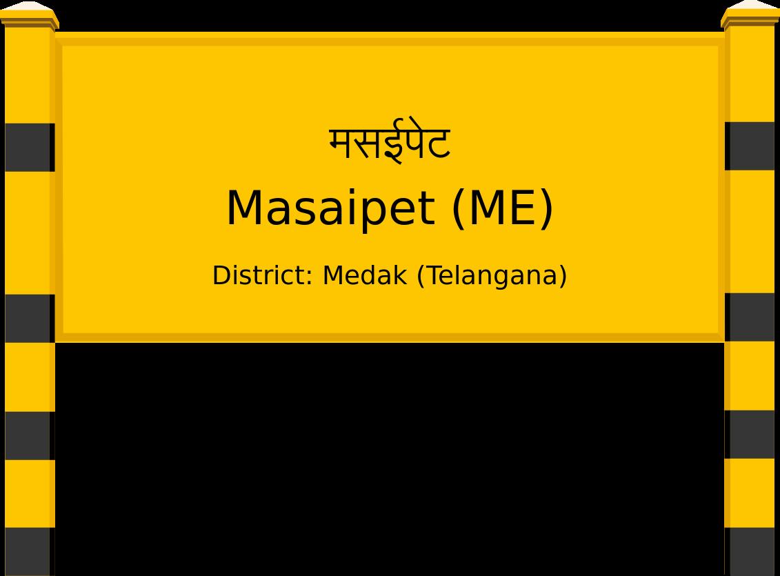 Masaipet (ME) Railway Station