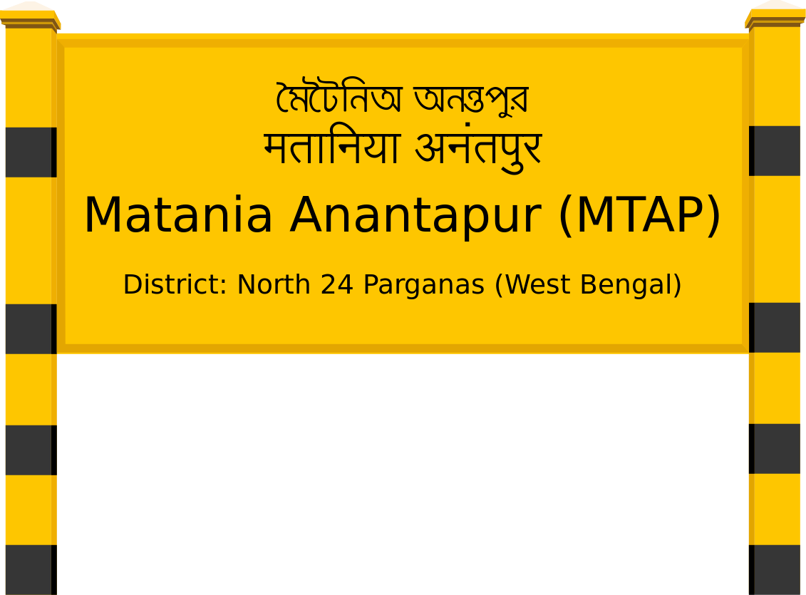 Matania Anantapur (MTAP) Railway Station