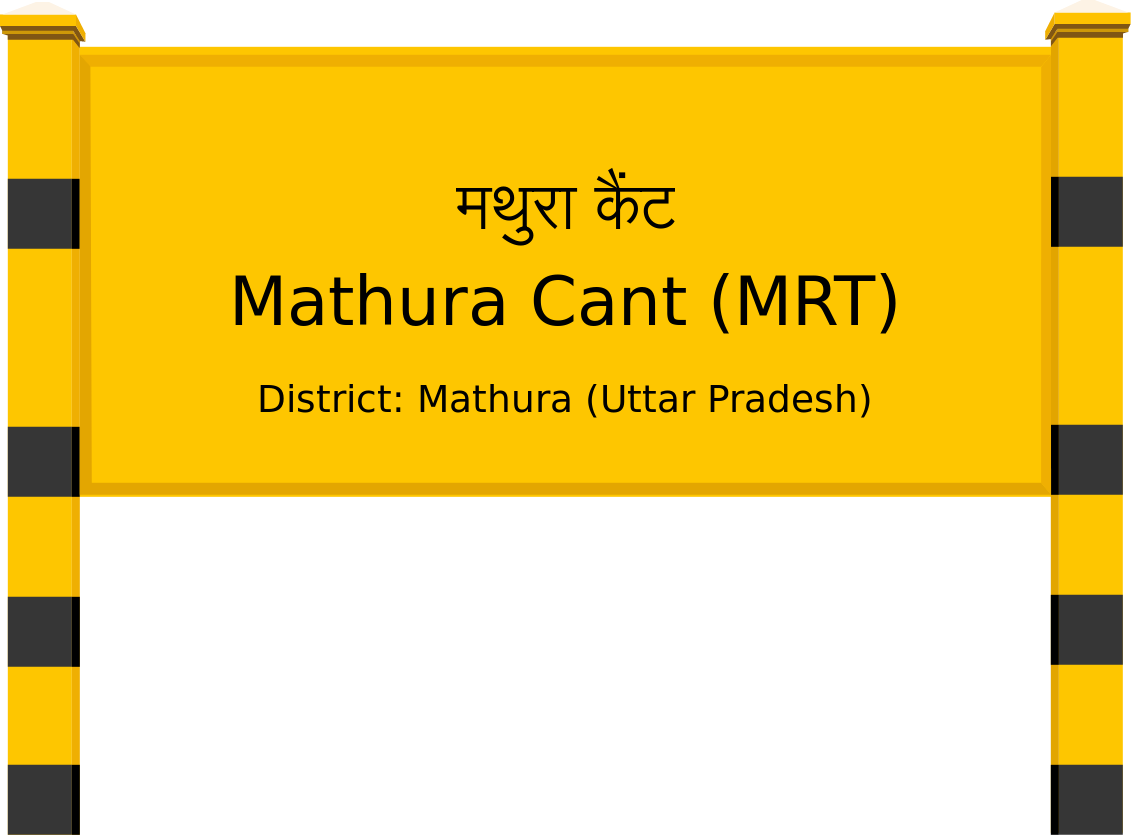 Mathura Cant (MRT) Railway Station