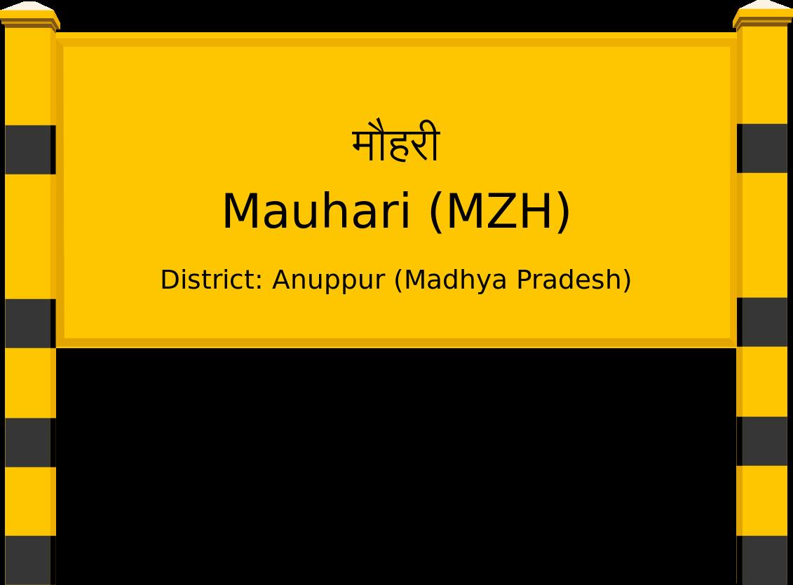 Mauhari (MZH) Railway Station