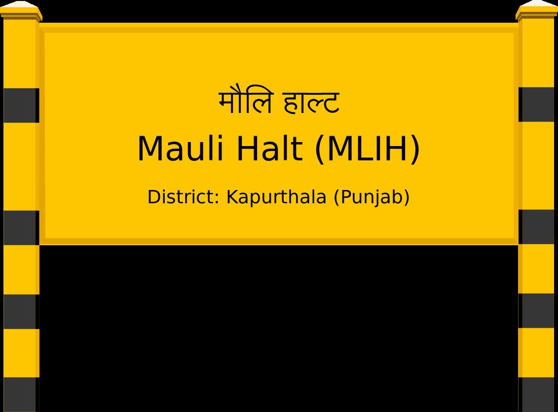 Mauli Halt (MLIH) Railway Station