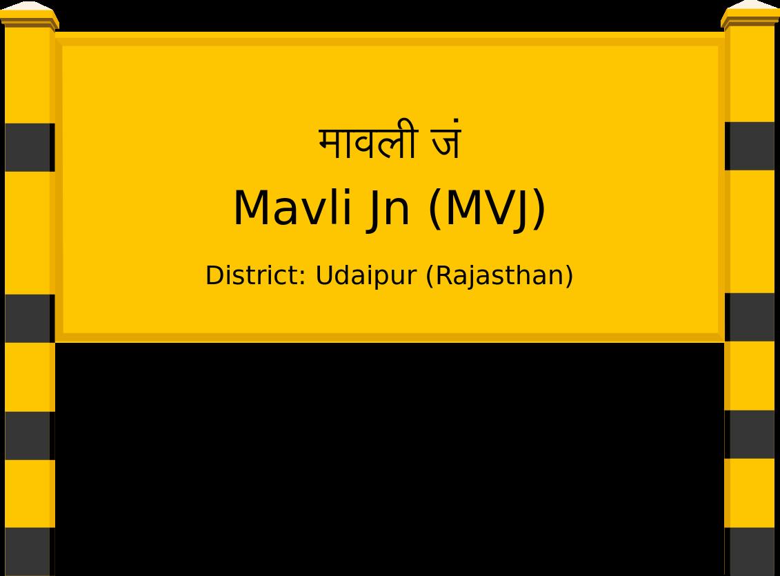 Mavli Jn (MVJ) Railway Station