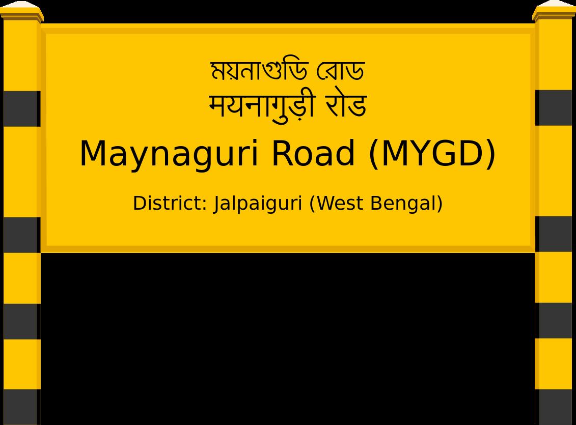 Maynaguri Road (MYGD) Railway Station