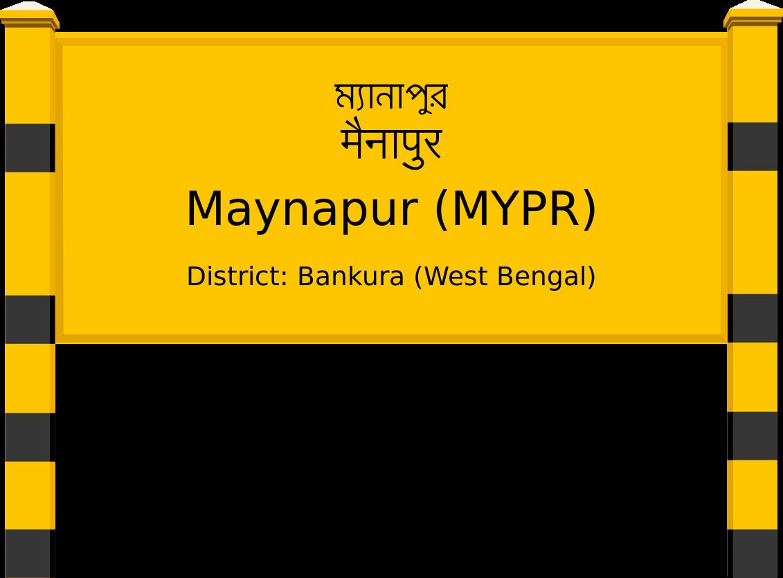 Maynapur (MYPR) Railway Station
